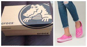 Značka Crocs prišla na trh so sandálami na podpätku a ihneď sa vypredali