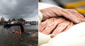 Ako vyzerá telo plavca po 55 hodinách vo vode a preplávaných 163 km?