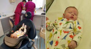 11-týždňovému bábätku cez noc narástol zub pripomínajúci tesák upíra