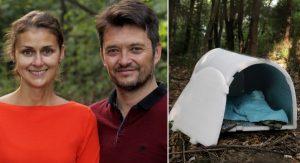 Český pár vyrába prenosné iglu, ktoré chráni bezdomovcov pred umrznutím