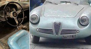 V talianskej pivnici našli po 35 rokoch státia vzácny kúsok značky Alfa Romeo, ktorý bol vydražený za tisíce eur