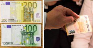 Už zajtra vstúpia do obehu nové 100 a 200 eurové bankovky. Okrem vzhľadu bude iná aj ich veľkosť