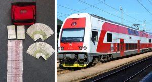 Starší pán si zabudol v slovenskom vlaku 62 tisíc eur. Vraj si vybral celoživotné úspory z banky